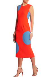 Roksanda Ilincic Polka-dot crepe dress