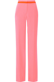 Claude stretch-cady wide-leg pants