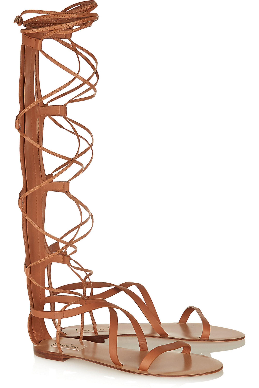 Valentino Aphrodite leather sandals
