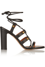 Rockstud Gladiator leather sandals