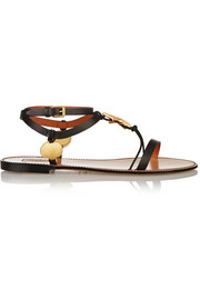 Abyss embellished leather sandals