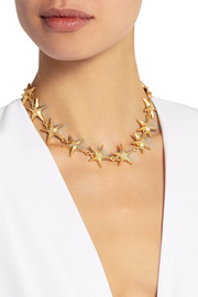 Valentino Gold-tone necklace