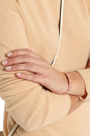 Ziggy rose gold-plated cubic zirconia cuff