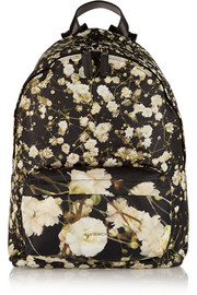 Backpack in printed shell
