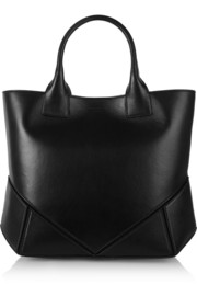 Small Easy bag in black leather