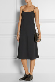 The Row Gibbons crepe dress