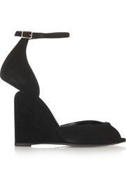 Arp suede wedge sandals