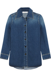 Chloé Stonewashed denim shirt