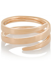 Coil 18-karat rose gold phalanx ring