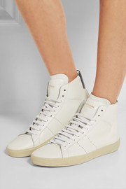 Court Classic leather high-top sneakers