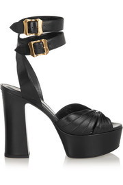 Saint Laurent Candy leather sandals