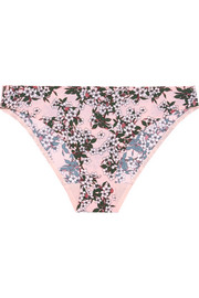 Stella Smooth printed stretch-jersey briefs