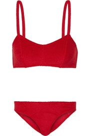 The Genevieve stretch-terry bikini