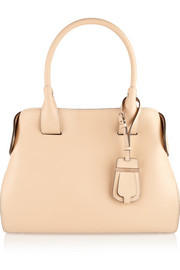 Cape small leather tote