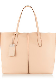 Tod's Shopping textured-leather tote