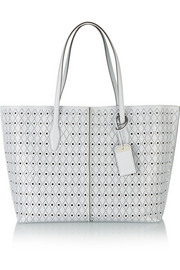 Tod's Shopping medium perforated leather tote