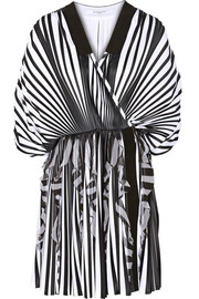 Givenchy Pleated jersey mini dress