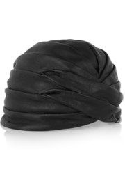 Leather turban