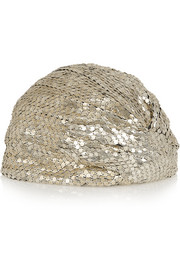 Saint Laurent Chainmail turban