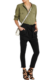 Igorchic linen-blend tapered pants