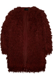 Isabel Marant Abella fringed silk coat