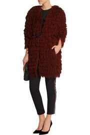 Abella fringed silk coat
