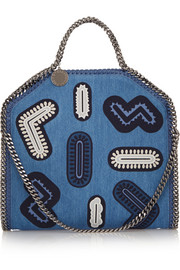 Stella McCartney The Falabella denim shoulder bag
