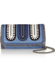 The Falabella mini denim shoulder bag