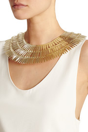 Tribu gold-tone necklace