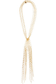 Allegra gold-tone necklace