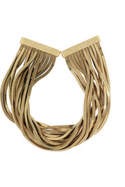 Schiava gold-tone necklace