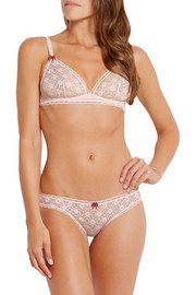 Stella McCartney Camille Dashing lace underwired bra