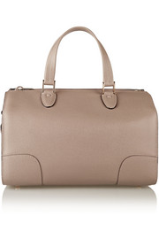 Milano medium textured-leather tote