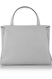 Triennale large textured-leather tote