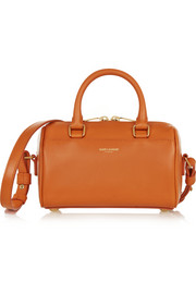 Classic Duffle mini leather shoulder bag