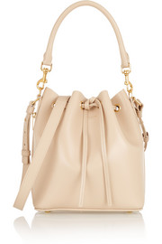Emmanuelle medium leather bucket bag
