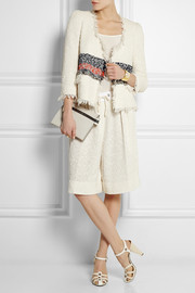 Sonia Rykiel Cotton-blend bouclé-tweed jacket
