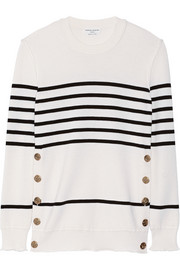Sonia Rykiel Striped wool, silk and cashmere-blend sweater