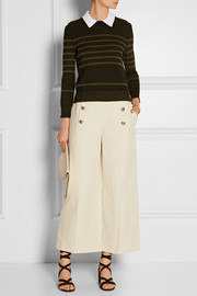 Sonia Rykiel Striped wool-blend sweater