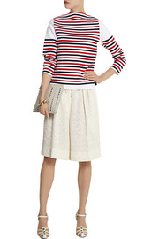 Sonia Rykiel Striped stretch-ponte top