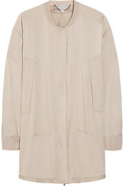Gregory oversized silk crepe de chine jacket