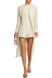 Irune embroidered gauze coat
