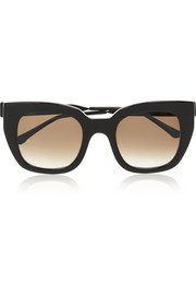 Swingy D-frame acetate sunglasses