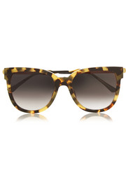 D-frame acetate sunglasses