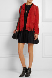 Curtis fringed suede jacket