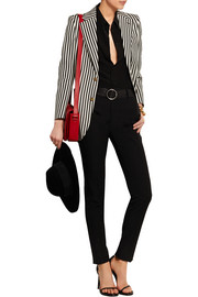 Saint Laurent Striped wool-twill blazer