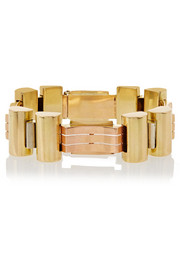 Olivia Collings 1940s 18-karat gold bracelet