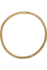 1850s 14-karat gold necklace