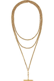 1870s 18-karat gold necklace