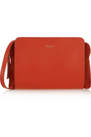 Nina Ricci Marché Duo leather and suede shoulder bag